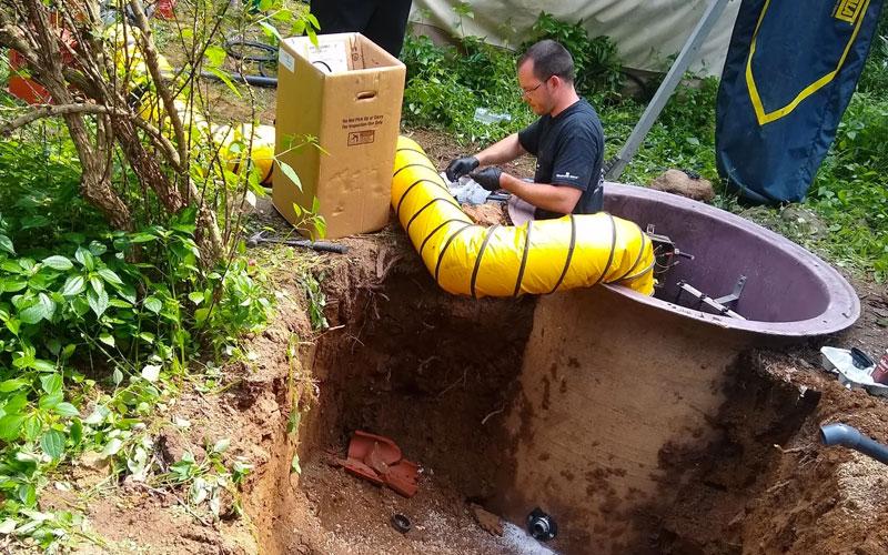 Grinder Pump Rebuild