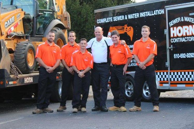 Sewer Maintenance Team
