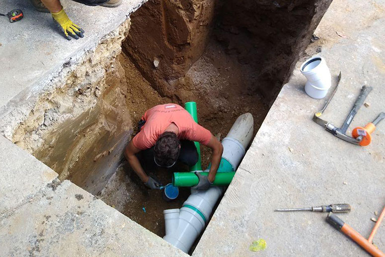 Horn Sewer Line Plumbing Services
