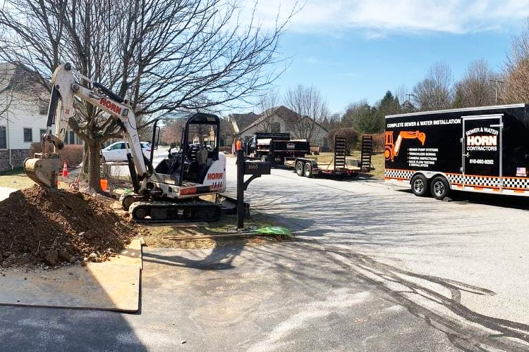Water Line Replacement & Installation